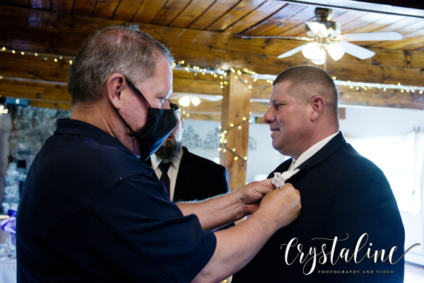 Crystal Rose - Groom preparation