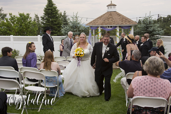Crystal Rose - Bride & groom recessional