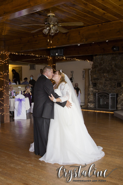 Crystal Rose - Bride & groom first dance