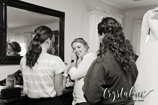 Bride at Willow Ridge Manor