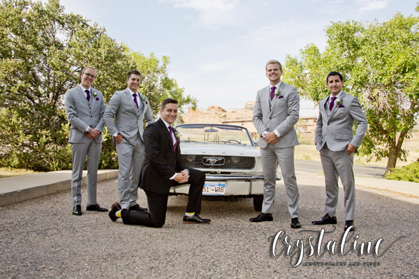 Willow Ridge Manor - Groom and Ford Mustang