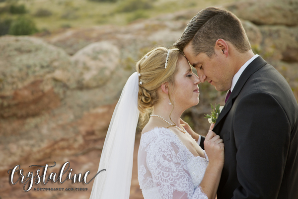 Willow Ridge Manor - Bride and Groom Portrait