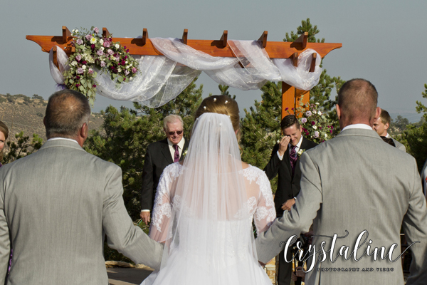Willow Ridge Manor - Presenting the bride